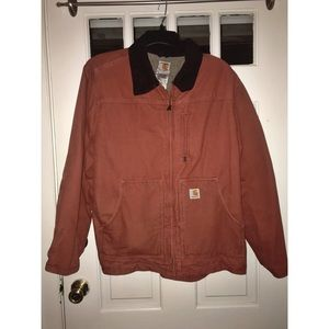 Orange Carhartt Coat for Women